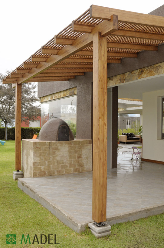 P rgolas for Pergolas metalicas jardin